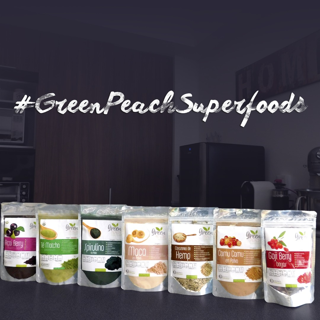 green peach superfoods
