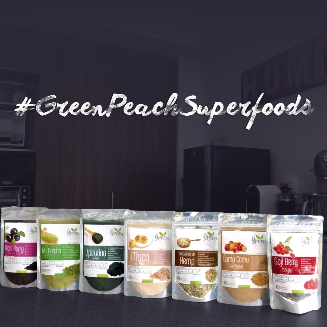 green peach superfoods